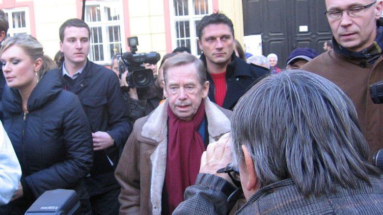 Bývalý prezident Václav Havel; Foto: David Sedlecký / Wikimedia Commons