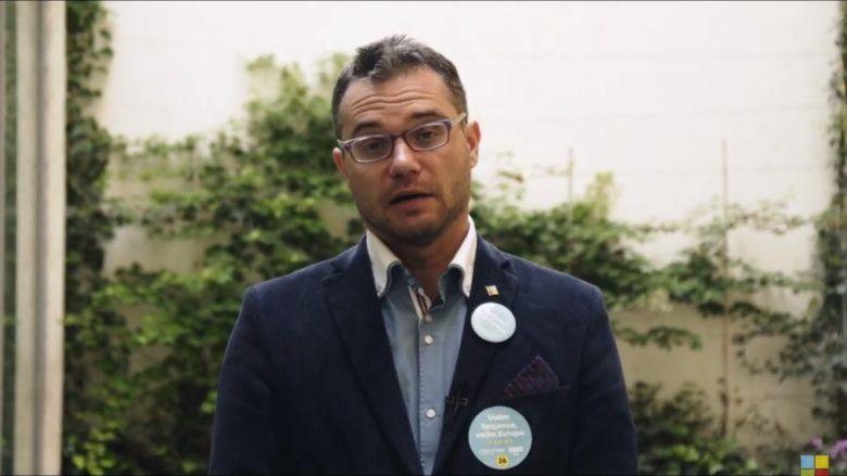 Europoslanec Stanislav Polčák (STAN); Foto: Repro YouTube Starostové a nezávislí