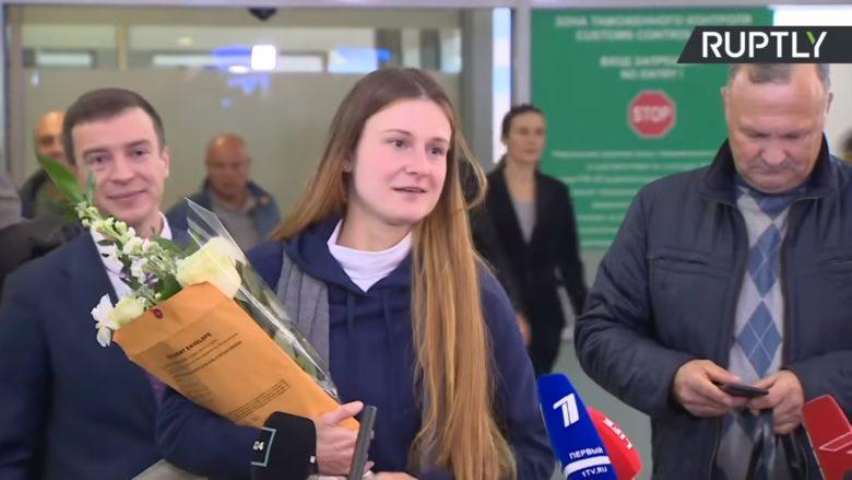 Maria Butinová; Foto: Repro YouTube Ruptly