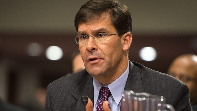 Mark Esper, americký ministr obrany; Foto: John G. Martinez / Wikimedia Commons