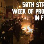 VIDEO: Francouzi protestovali proti vládě již po 50. víkend