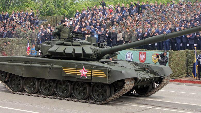 Modernizovaný tank T-72 Ruské armády; Foto: Srđan Popović / Wikimedia Commons
