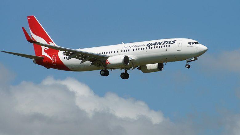Boeing 737 australské letecké společnosti Qantas; Foto: Chris Sutton / Wikimedia Commons