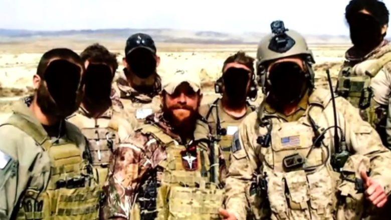 Americký válečný zločinec Edward Gallagher; Foto: Repro YouTube