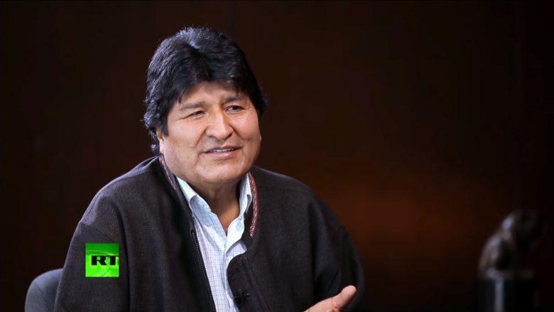 Bolívijský prezident Evo Morales; Foto: Repro YouTube RT