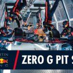 VIDEO: Takhle se přezouvá Formule 1 ve stavu beztíže