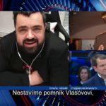 VIDEO: Skandální vystoupení Pavla Novotného v ruské televizi ohledně pomníku vlasovcům