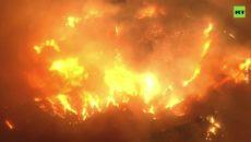VIDEO: Požáry v Kalifornii se šíří