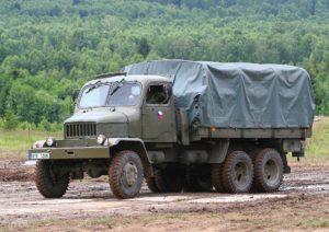 Vojenský nákladní automobil Praga V3S; Foto: Adam Hauner / Wikimedia Commons