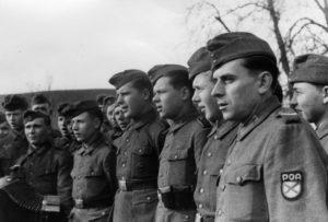 Vlasovci v roce 1944; Foto: Karl Müller (Deutsches Bundesarchiv) / Wikimedia Commons
