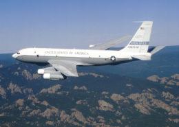 Americký pozorovací letoun Boeing OC-135B; Foto: Leif / Wikimedia Commons