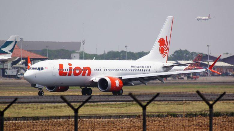 Letoun Boeing 737 MAX letecké společnosti Lion Airlines, který později havaroval; Foto: PK-REN / Wikimedia Commons