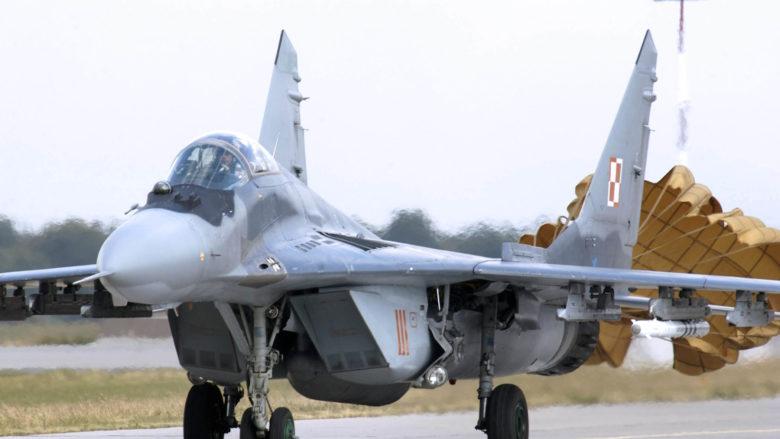 MiG-29 polského letectva; Foto: US Air Force / Wikimedia Commons