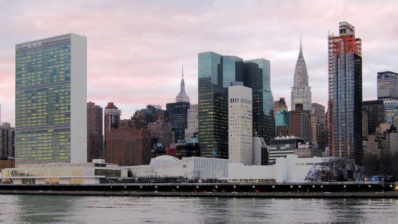 Sídlo Organizace spojených národů v New Yorku; Foto: Neptuul / Wikimedia Commons