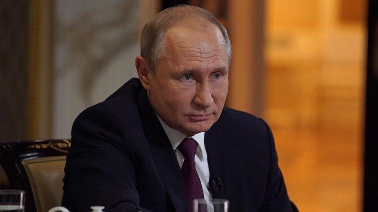 Ruský prezident Vladimir Putin; Foto: Tisková služba prezidenta RF / Wikimedia Commons