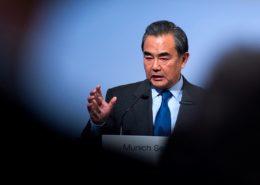 Čínský ministr zahraničí Wang I; Foto: Kleinschmidt (MSC) / Wikimedia Commons
