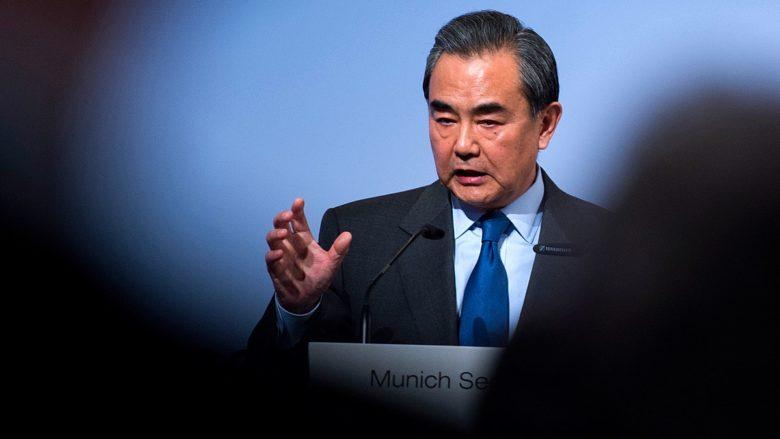 Čínský ministr zahraničí Wang Yi; Foto: Kleinschmidt (MSC) / Wikimedia Commons