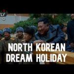 VIDEO: V Severní Koreji otevřeli lázně, kde mohou lidé strávit zimní dovolenou