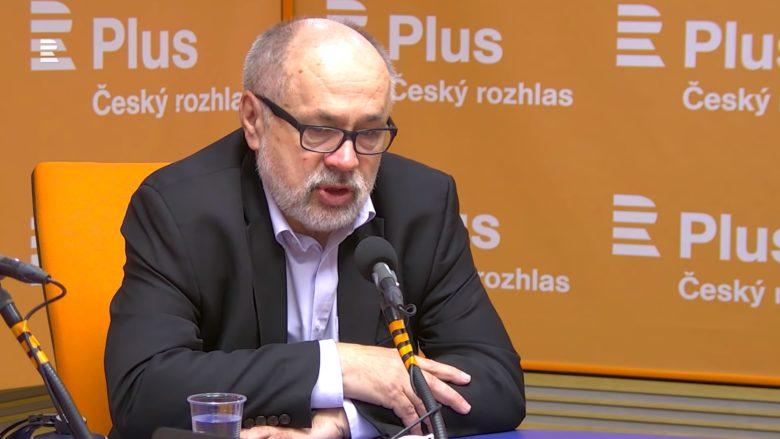 Jiří Pehe; Foto: Repro YouTube Český rozhlas