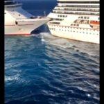 VIDEO: Srážka výletních lodí v Mexiku
