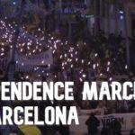 VIDEO: Katalánci opět demonstrovali za nezávislost na Španělsku