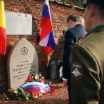 POCTA: V Belgii byl odhalen památník sovětským partyzánům
