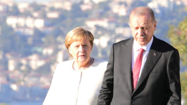 Angela Merkelová a Recep Tayyip Erdogan; Foto: kremlin.ru / Wikimedia Commons