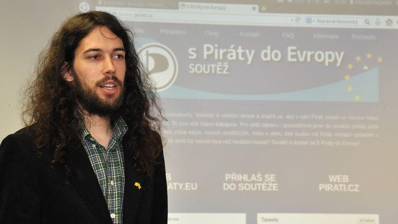 Mikuláš Ferjenčík (Piráti); Foto: Pirátská strana / Wikimedia Commons