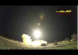 VIDEO: Odpálení íránských raket proti americkým cílům v Iráku