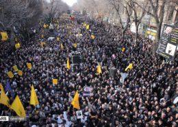 Smuteční pochod v Bagdádu; Foto: Vahid Abdi (FARS) / Wikimedia Commons