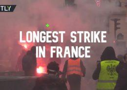 VIDEO: Protesty proti důchodové reformě ve Francii překonávají všechny rekordy