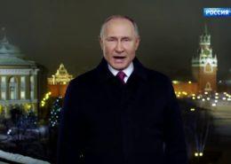 VIDEO: Projev a blahopřání Vladimira Putina k novému roku 2020 (CZ titulky)