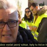 VIDEO: Řečtí ostrované protestovali proti přílivu migrantů [české titulky]