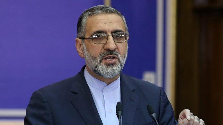 Mluvčí íránského Nejvyššího soudu Gholamhossein Esmaili; Foto: Zahra Hoseini / Wikimedia Commons
