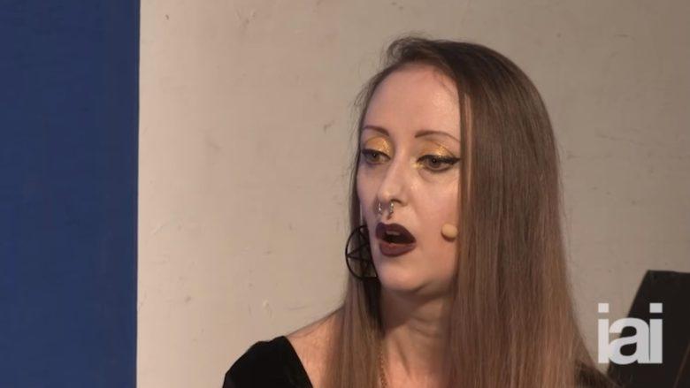 Profesorka Patricia MacCormack; Foto: Repro YouTube IAI
