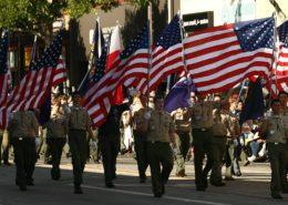 Američtí skauti; Foto: Boy Scouts of America / Wikimedia Commons