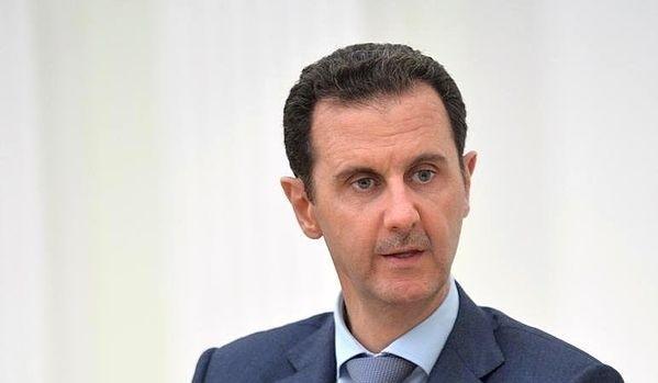 Syrský prezident Bašár Asad; Foto: Tisková služba prezidenta Ruska