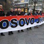 V Praze se demonstrovalo proti ULOUPENÍ KOSOVA Srbsku