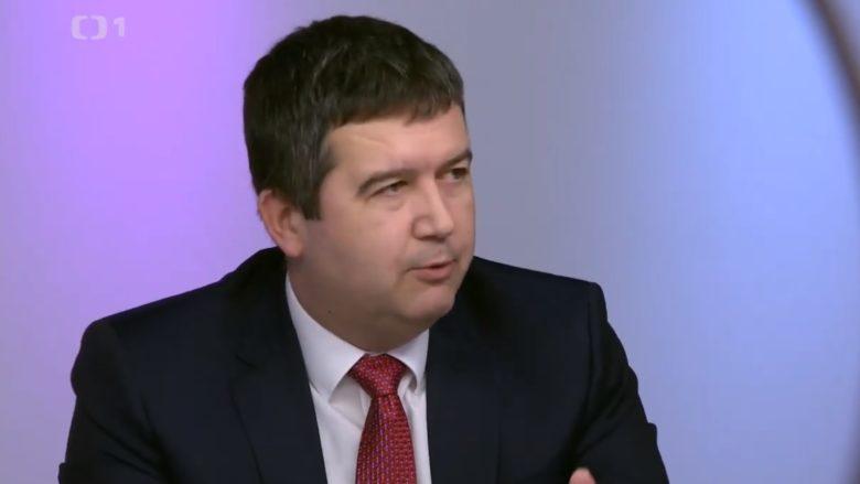 Ministr vnitra Jan Hamáček; Foto: Repro Česká televize