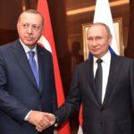 SÝRIE: Putin a Erdogan se dohodli na zastavení palby v Idlibu