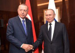 Turecký prezident Recep Erdogan a ruský prezident Vladimir Putin; Foto: Ruská prezidentská kancelář / Wikimedia Commons
