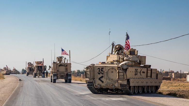 Americká invazní armáda v Sýrii; Foto: Americká armáda / Wikimedia Commons