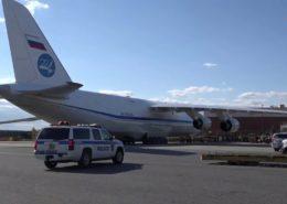 POMOC: Rusko poslalo do USA 60 tun zdravotnického materiálu