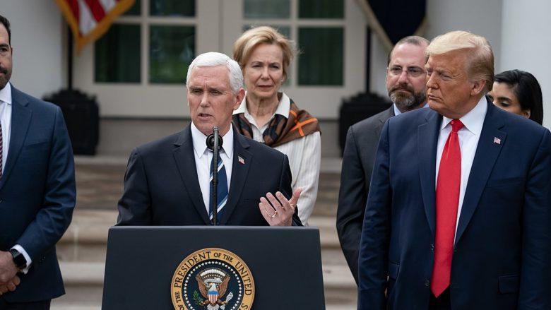 Americký viceprezident Mike Pence; Foto: Bílý dům / Wikimedia Commons