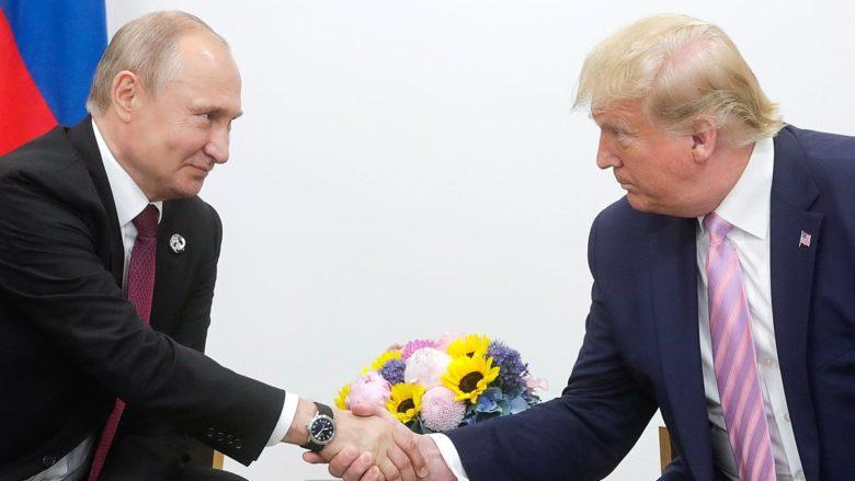 Ruský prezident Vladimir Putin a americký prezident Donald Trump; Foto: Ruská prezidentská kancelář / Wikimedia Commons