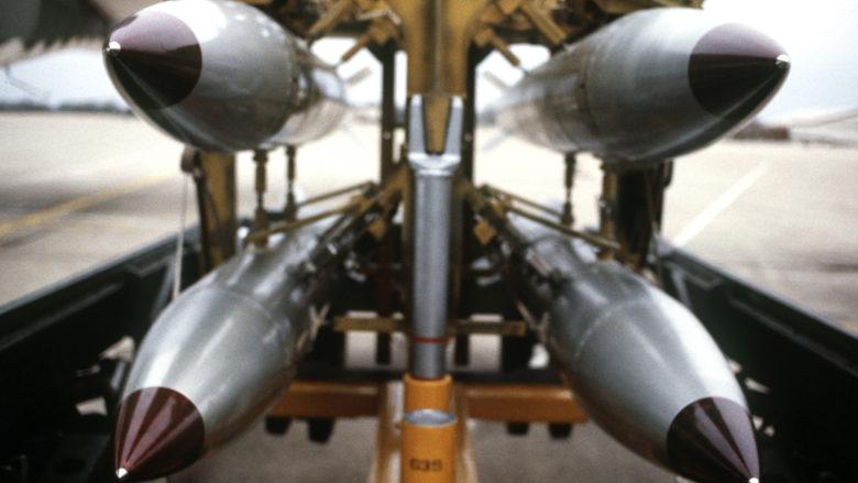 Americké jaderné bomby B-61; Foto: Ministerstvo obrany Spojených států / Wikimedia Commons