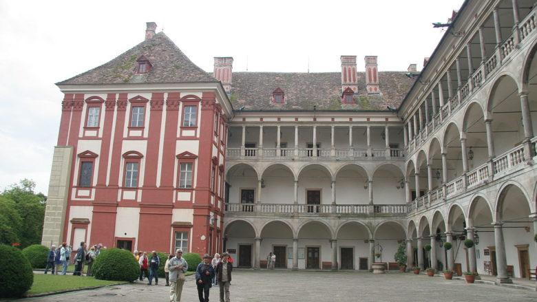Zámek Opočno; Foto: Petr1888 / Wikimedia Commons