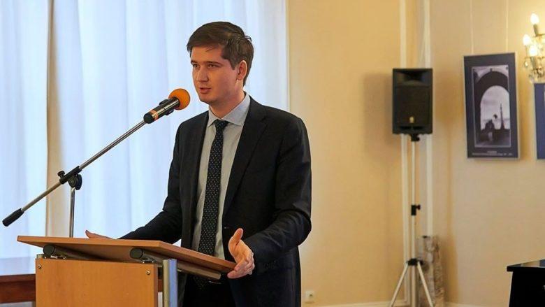 Ruský diplomat Andrej Končakov; Foto: Profil Andreje Končakova na sociální síti
