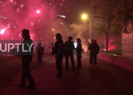 VIDEO: Ve Francii vypukly opět nepokoje. Předměstí Paříže se proměnila v bojiště