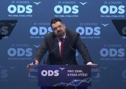 Pavel Novotný na sjezdu ODS v roce 2020; Foto: Repro YouTube.com